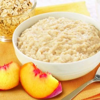 Oatmeal with Peaches-n-Cream