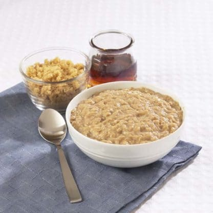 Oatmeal with Maple and Brown Sugar